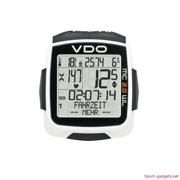 vdo mc2 Vdo MC 2.0 WR   WL ciclocomputer con altimetro
