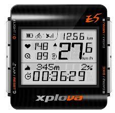 Xplova-E5 GPS-ciclocomputer