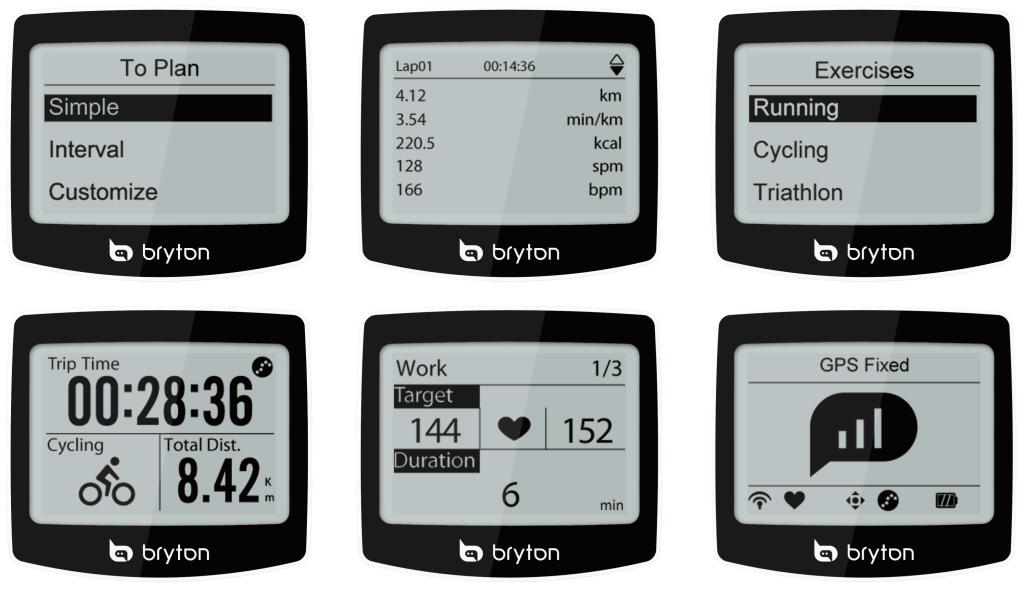 Bryton-Cardio-60-display