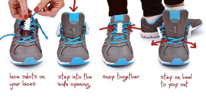 Chaussure Zubits Magnetic Shoe Closures