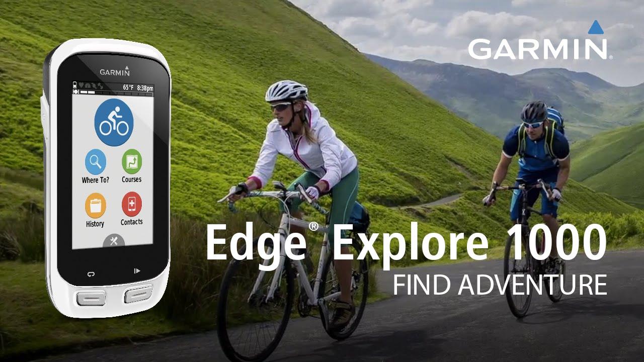 Garmin Edge Explore 1000 ciclocomputer