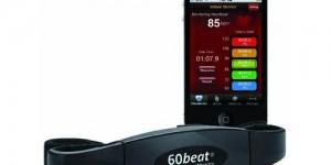 60Bit Blue HR fascia cardio per iPhone