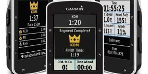Garmin Edge 520 introduce i segmenti Strava Live