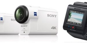 Sony presenta le nuove actioncam FDR-X3000 e FDR-AS300