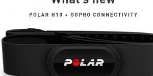 La nuova fascia cardio Polar H10 si connette alle GoPro