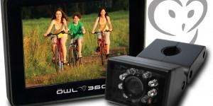Owl 360 la telecamera per la sicurezza dei ciclisti
