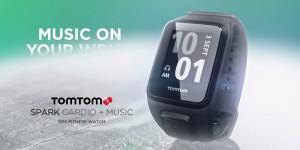 TomTom presenta Spark activity tracker cardio con lettore musicale incorporato
