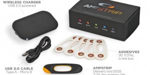 AmpStrip il cerotto smart per il fitness