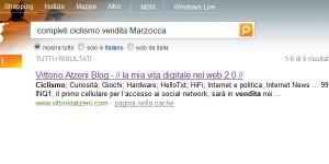 Bing di Microsoft da strani risultati...