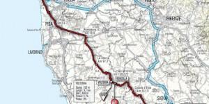 Carrara - Montalcino settima tappa