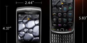 Il Blackberry Torch 9800 con il nuovo OS6