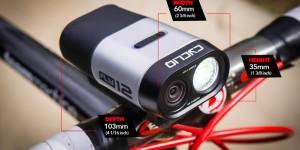 Cycliq Fly12 luce anteriore con videocamera HD
