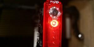Fly6 la luce posteriore per il ciclismo che filma in HD