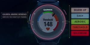 Garmin Forerunner 225 la frequenza cardiaca al polso
