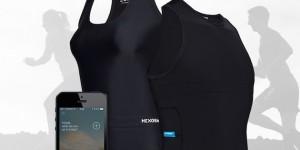 Hexoskin la maglia con sensori biometrici