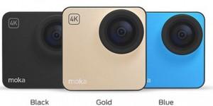 Mokacam, la più piccola actioncam 4K al mondo