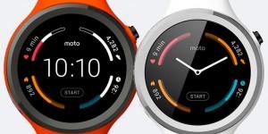 Nuovo smartwatch Moto 360 Sport con monitoraggio cardio