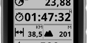 O-synce navi2coach ciclocomputer GPS