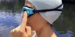 Oncourse occhiali specifici per il nuoto nel Triathlon