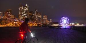 Orfos Flares luci per biciclette ad alta luminosità