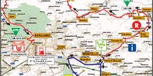 Settimana Lombarda: Montello - Bergamo 153km