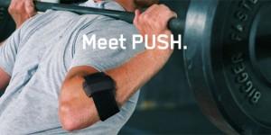 Push: il primo tracker che misura la forza fisica