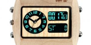 Aiuta la natura, compra un orologio di legno...