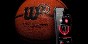 Wilson X Connected palla da basket smart