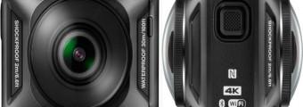 Nikon Key Mission 360 la prima action cam della casa giapponese