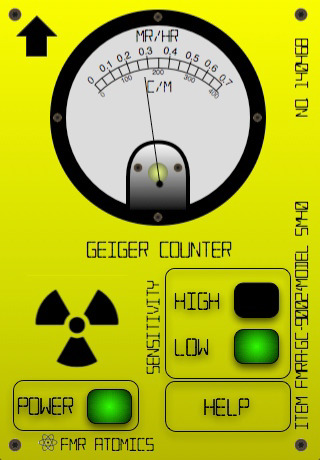 fake geiger counter