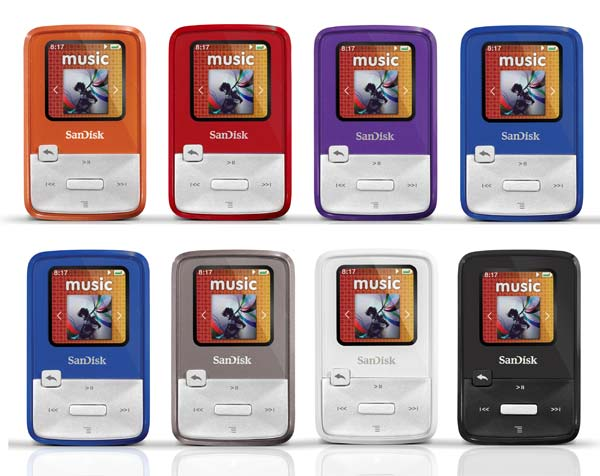 sandisk sansa clip zip manual