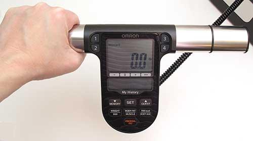 monitoraggio della perdita di grasso per omron