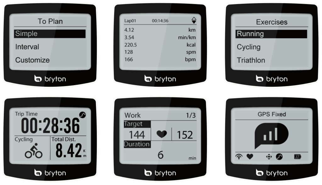 Bryton-Cardio-60-display