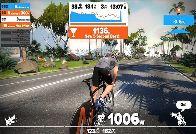 zwift-virtual-trainer