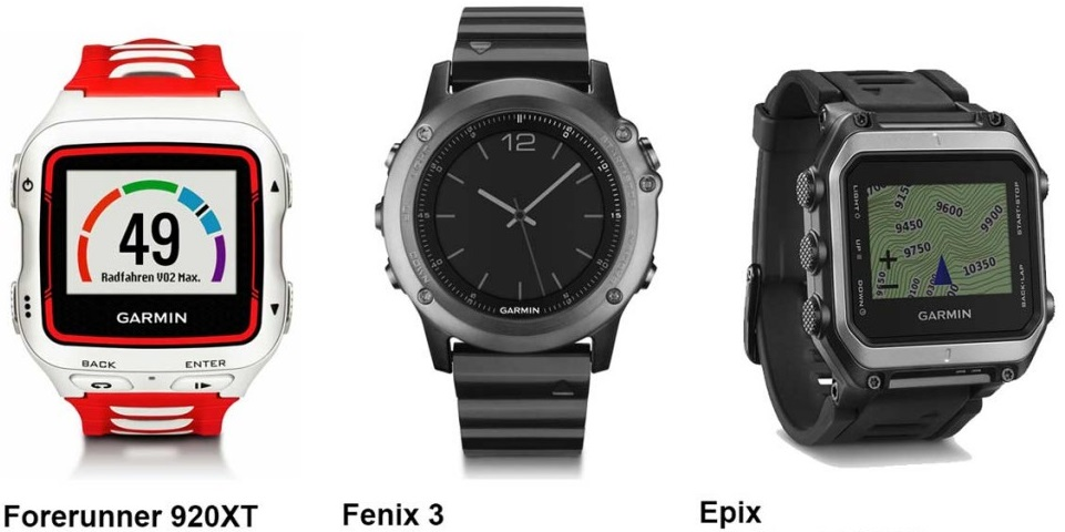 Garmin-fenix3-fr920xt-Epix