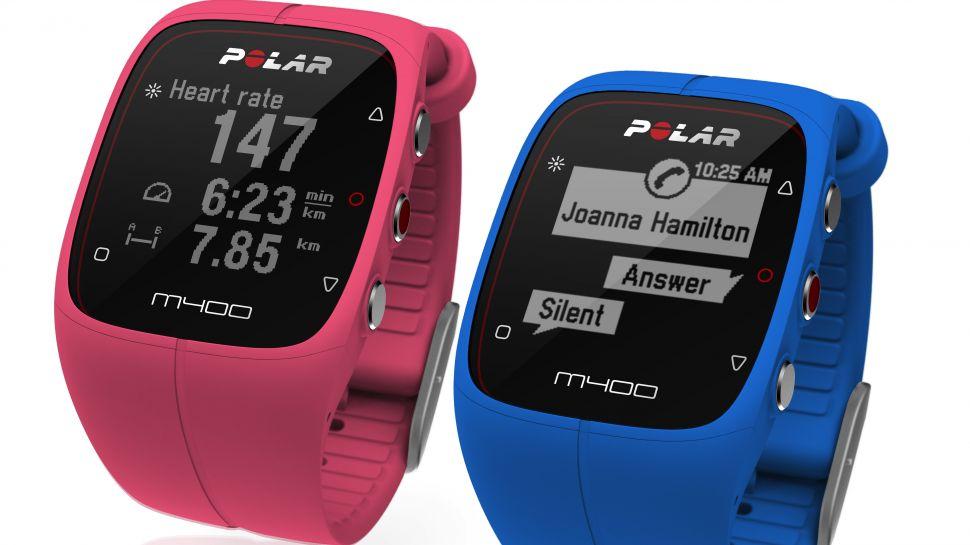 Polar-M400-rosa-o-blu