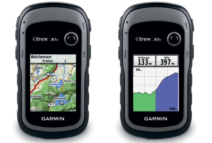 gps trekking garmin-etrex-30x