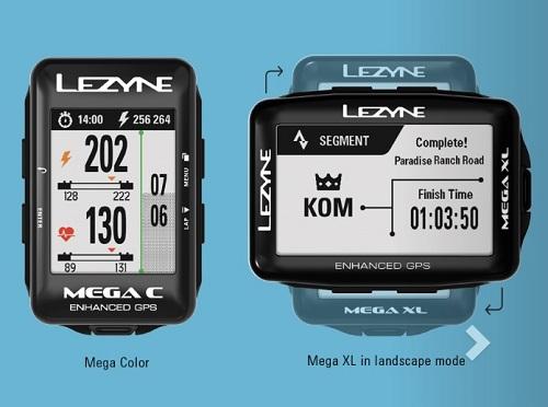 Lezyne Mega XL & Mega C GPS