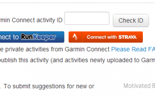 Come pubblicare automaticamente da Garmin Connect a Strava